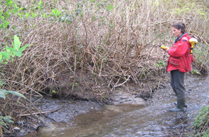 SHIM mapping a watercourse in the Lower Mainland